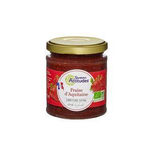 Saveurs attitudes Confiture de fraise d'Aquitaine 220g