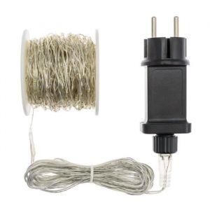 Akasa LOTTI Guirlande lumineuse 400 micro-LED - Lumière multicolore fixe - 20 m - Guirlande lumineuse 400 micro-LED - 20m - Lumière Multicolore fixe - Câble argenté - 12V - Intérieur/extérieur