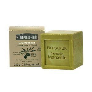 Le Comptoir du Bain L'Authentique - Véritable savon de Marseille à l'huile d'olive