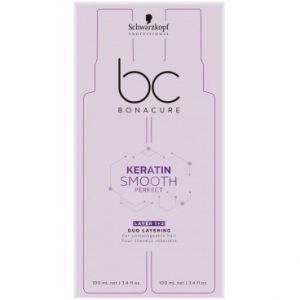 Schwarzkopf BC Kératin Smooth Perfect Double Phase - 2 x 100 ml