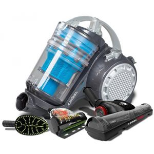E.ZICOM E.ziclean Turbo Multi-Floors - Aspirateur traîneau sans sac