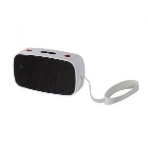 Clip Sonic TES126W Haut-parleur radio Blanc