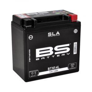 BS Battery Batterie BS BTX14L sans entretien activée usine