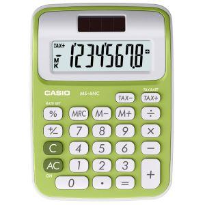 Casio MS-6NC - Calculatrice de bureau solaire