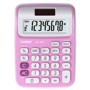 Casio MS-6NC - Calculatrice de bureau solaire