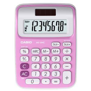 Image de Casio MS-6NC - Calculatrice de bureau solaire