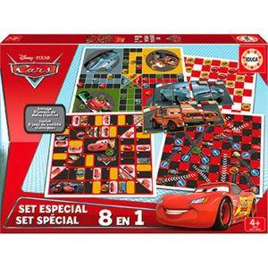 Educa Set spécial jeux de socitété Disney Cars 8 en 1