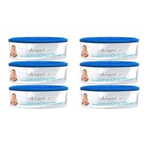 Angelcare 6 recharges pour poubelle à couches