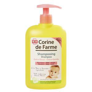 Corine de Farme Shampooing extra-doux à l'extrait de fleur d'amandier hydratant