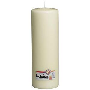 Bolsius 103617700105 Bougie pilier, Cire de paraffine, ivoire