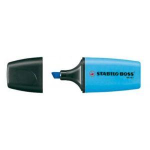 Stabilo Boss mini - Surligneur pointe biseau 2-5 mm bleu