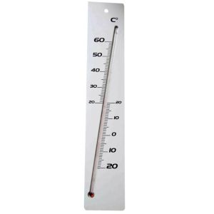 Stil Thermomètre medium blanc 400mm -
