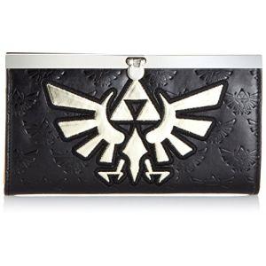 Bioworld Portefeuille 'The Legend of Zelda' - Zelda gold logo + Girlds Wallet
