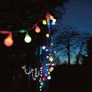 Wadiga Guirlande Lumineuse Extérieure Leds Multicolore Guinguette