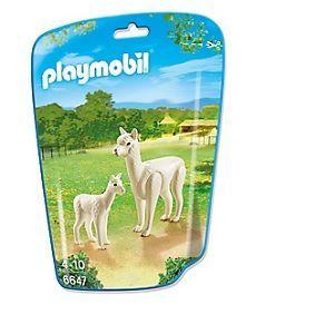 Playmobil 6647 City Life - Sachet alpaga et son petit