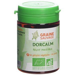 Graine sauvage Dorcalm bio - nuits paisibles - 60 gélules