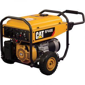 Caterpillar Groupe électrogène CHANTIER 4000W Réservoir 30 litres Autonomie 13.5h à 50% - Avr - RP4400