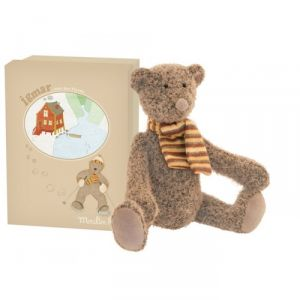 Moulin roty Peluche Ours Igmar 36 cm