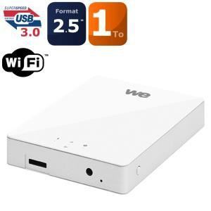 "WE WE1059 - Disque dur externe 1 To 2,5"" Wifi USB 3.0"