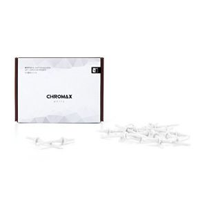 Noctua NA-SAV2 chromax.white - Kit d%u2019accessoires pour ventilateur composé de 20 attaches anti-vibrations