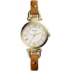 Fossil ES4000 - Montre pour femme avec bracelet en cuir
