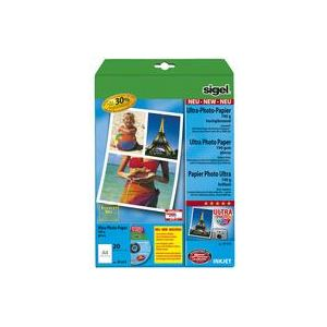 Sigel 20 feuilles de papier photo Ultra 260g/m² (A4)