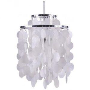 Verner Panton Fun 2DM - Lampe suspension nacré