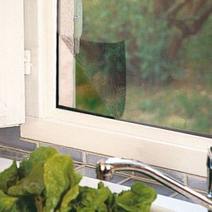 Moustiquaire fenêtre KOCOON avec fixation auto-agrippante 150x130cm