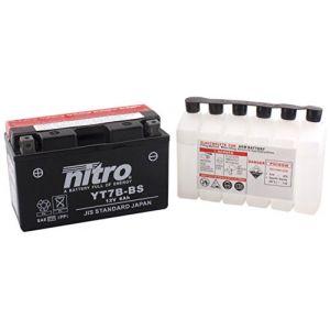 Nitro Batterie YT7B-BS AGM ouvert avec pack acide Type Acide