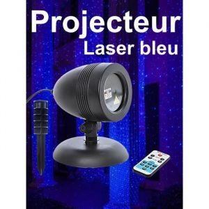 Christmas Dream Projecteur laser de Noël bleu avec télécommande