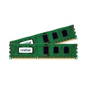 Crucial CT2K102464BD160B - Barrette mémoire DDR3 16 Go (2 x 8 Go) 1600 MHz CL11