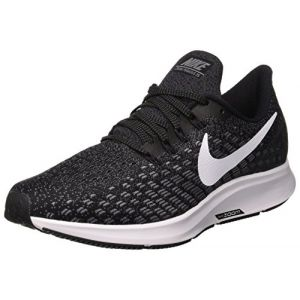 Nike WMNS Air Zoom Pegasus 35, Chaussures de Running Femme, Multicolore (Black/White-Gunsmoke-Oil Grey 001), 38 EU