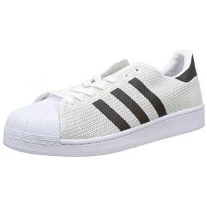 timeless design 34f12 0505c Adidas Superstar Basket Mode Homme, Blanc (Footwear WhiteFootwear  WhiteCore Black