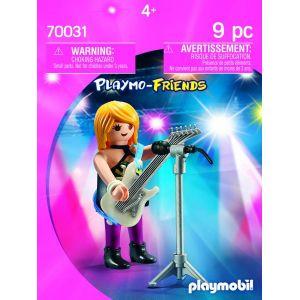 Image de Playmobil 70031 - Star du rock