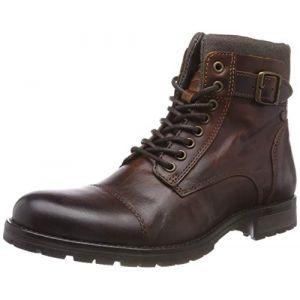 Jack & Jones Boots Jack Jones ALBANY LEATHER Marron - Taille 41,45