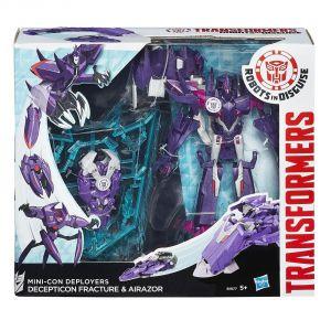 Hasbro Mini-Con Deployer Transformers - Decepticon Fracture & Airazor