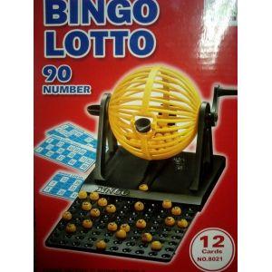 Loto bingo complet boulier + 90 boules + 12 cartons