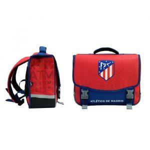 ATLETICO MADRID Cartable 2 Compartiments Primaire / Collège 41 cm Rouge et bleu Enfant Garçon