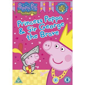 Peppa Pig : Princess Peppa and Sir George The Brave