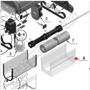 Procopi 1017701 - Sac filtre robot Magnum