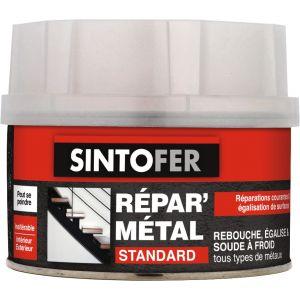 Sinto Mastic de réparation polyester standard Fer (170 ml) - Contenance : 170 ml