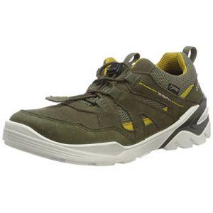 Ecco Biom Vojage, Sneakers Basses garçon, Vert (Grape Leaf 51131), 37 EU