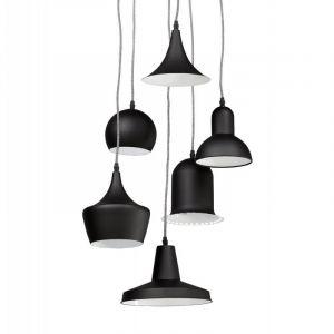 Kokoon Design Suspension Multi Abat-Jour Coloris Noir BRUNELLA