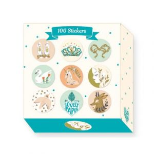 Djeco 100 stickers Lucille Michielli