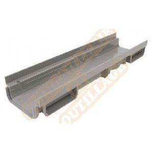 Nicoll Caniveau bas 0,5m PVC A15 ou B125 largeur 130 CAB773