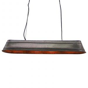 Brilliant AG Suspension LED E27 EEC: selon lampoule (A++ - E) 40 W Potions 93340/46 acier, noir