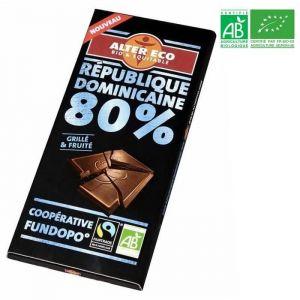 Alter Eco Chocolat noir République Dominicaine 80% bio