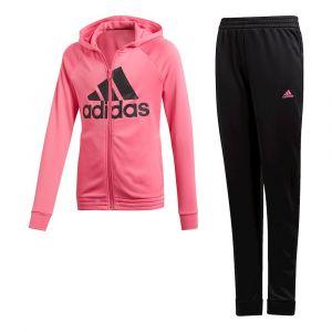 Adidas Survêtement Yg Hood Cot TS Rose / Noir - Taille 15 Ans