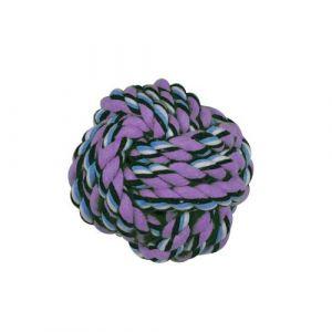 Dogi Jouet pour chien - Balle en corde - Multicolore