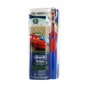 Oral-B Stages Power (D9513 DUO) - 2 brosses à dents électriques pour enfants Pincess et Cars